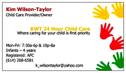 Child Care Openings @ KWT 24  Hour Child Care (in-home daycare)